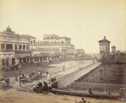 Old Court House Street looking south [Calcutta]